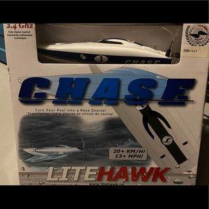 Chase - Lite Hawk - Remote Control Speed Boat